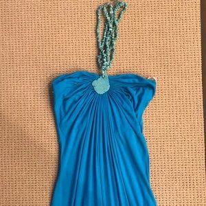 Turquoise Sky Maxi Dress